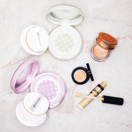 Color correcting makeup