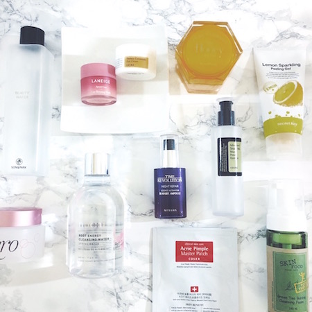 Korean Skincare Favorites 2016