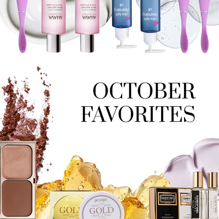 October Beauty & Fashion Favorites