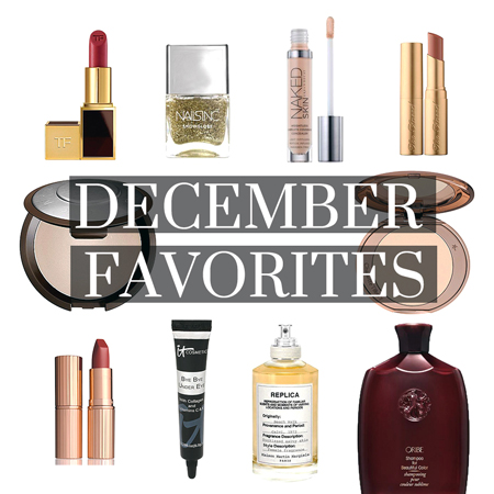 December Beauty & Fashion Favorites