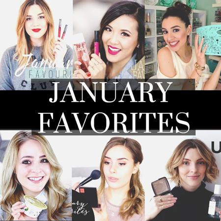 January Beauty & Fashion Favorites